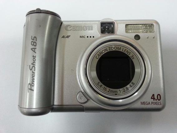 Câmera Fotografica Canon Powershot A85 - Ótimo Estado