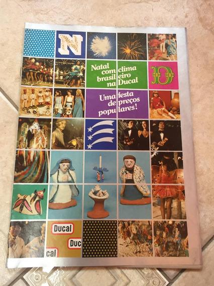 Revista De Propagandas Das Lojas Ducal Natal Anos 70 F313