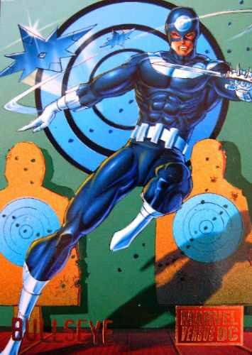 Bullseye / Marvel Vs Dc Comics Cards 30