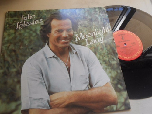 Vinil Julio Iglesias Moonlight Lady, Lp Mix Importado