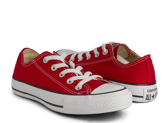 Tênis Ct As Core / Seasonal Ox Vermelho Converse