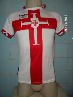 Camisa Vasco Da Gama Cavalera Branca N#10 Infantil