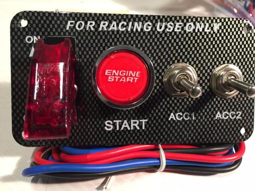 Interruptores Llaves Encendido Switch Led Nitro Tablero T22