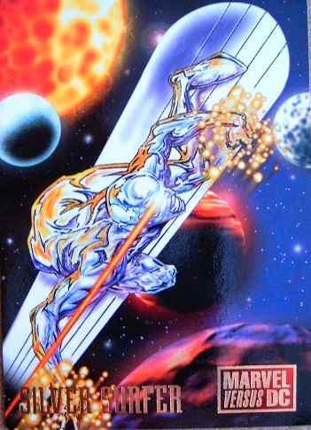 Silver Sulfer / Dc Vs Marvel Comics Cards 9