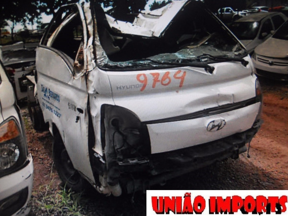 Sucata Hyundai Hr 2014 Retirada De Peças Motor Cambio E Peça