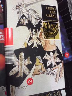 Libro Del Grial Antología 451 Editores Pasta Dura
