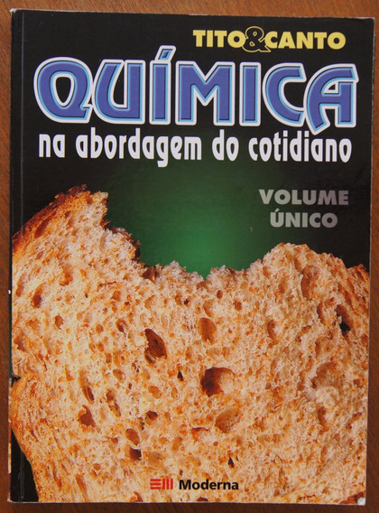 Livro Química Volume Único - Tito & Canto + Tabelas
