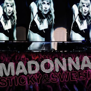 Madonna Sticky & Sweet Tour Dvd + Cd Amazing