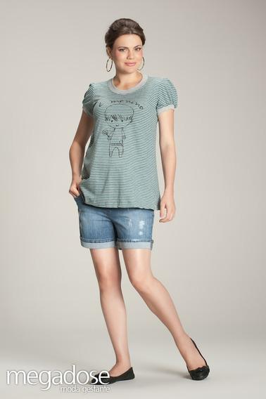 T-shirt É Menino G/gg (44/46) - Moda Gestante Megadose