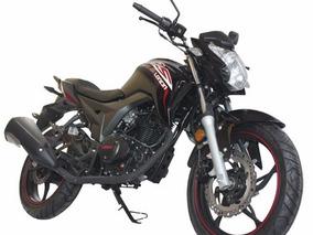 Moto Loncin Cr5 Lx250-11 Año 2015 Colores: Rojo, Negro, Blan