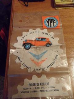 Antigua Bolsa 5 Litros Bidon De Auxilio Ypf Reliquia Vintage