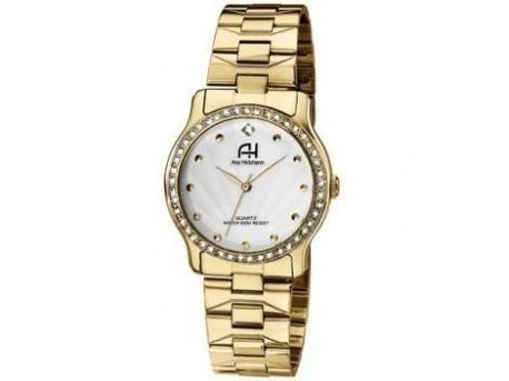 Relógio De Pulso Ana Hickmann Dourado Social Ah28035h S .