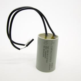 Capacitor De Partida 10uf 250v Ventilador Portão Eletrônico