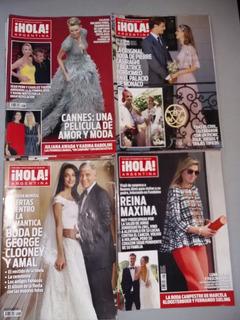Revista Hola X 7 U Argentina Año 2015 Muy Buen Estado Lote