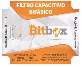 Filtro Capacitivo Redutor De Energia Bifásico - Bitbox