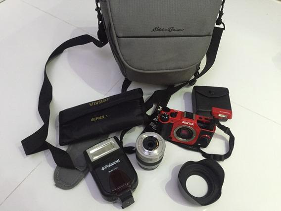 Camera Pentax Q10 Sem Uso. Única No Brasil!