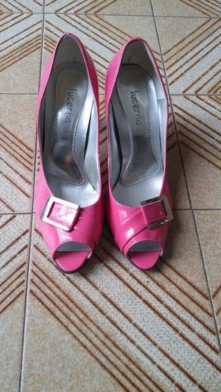 Zapatos Mujer Fucsia