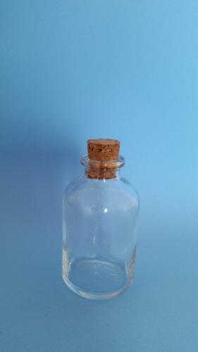 Imagem 1 de 3 de 300 Frascos Vidro C/ Rolha-água Benta De 50ml