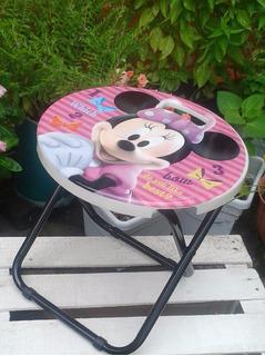 Silla Plegable De Minnie Mouse, Original