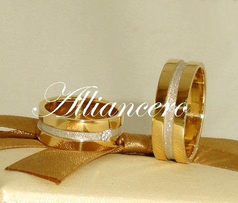 Aliança Ouro 18k 15gr - Frete Gratis - Casamento Alliancero