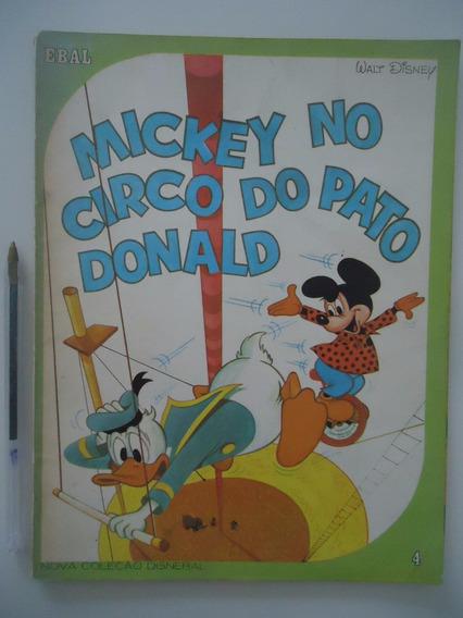 Mickey No Circo Do Pato Donald - Ebal Nova Coleção Disnebal