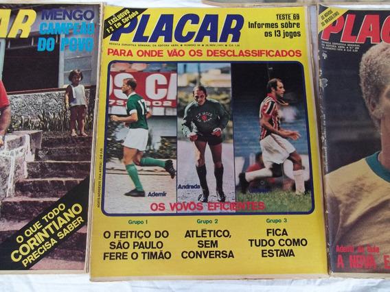 Revista Placar Antigas - Anos 70/80 Raras Com Poster Muitas