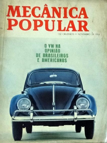 Revista Mecânica Popular Novembro 1963 O Volkswagen