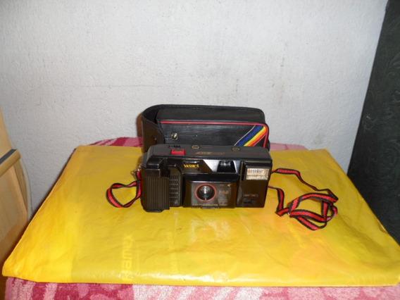 Antiga Maquina Foto Gráfica Yashica No Estado Não Fusiona