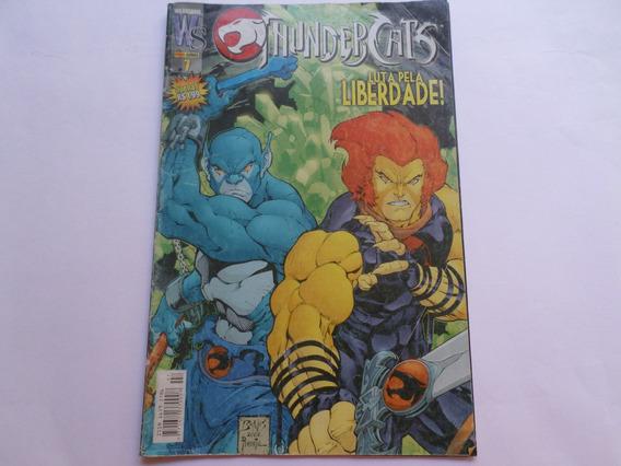 Revista Em Quadrinhos Thundercats - Antiga - Raridade