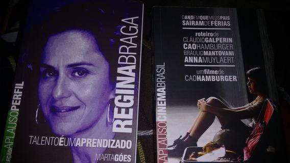 Coleção Aplauso Perfil/cinema Brasil - 2 Diferentes Exempla.
