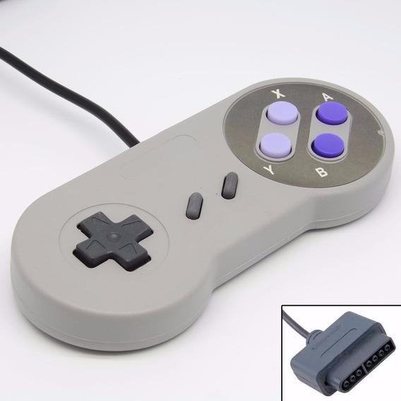 Kit 2 Controles Para Super Nintendo Famicom Snes Joystick