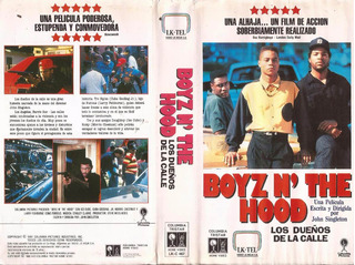 Lo Dueños De La Calle Vhs Boyz N The Hood Ice Cube 1991