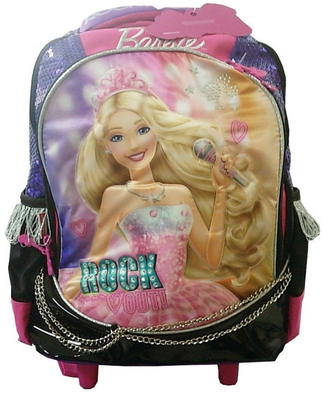 Mochilete Sestini Barbie Rock 64341-48 - Shop Tendtudo
