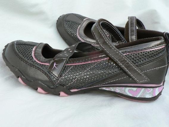 Guillermina Chatita Zapato Nº 35 36 Importado 1001zapatos