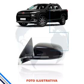 Retrovisor Ext Dir Fiat Toro 15-16 - C/pisca/friso/tilt Down