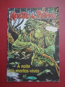 Revista Monstro Do Pântano Nº 04/1990