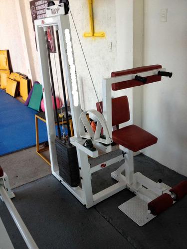 Maquina De Abdomen C/peso Integrado Marca: Guerra Fitness E.