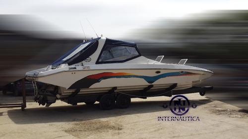 Imagem 1 de 9 de Magnum 39 2008 - Axtor Cranchi Runner Force One Superboats