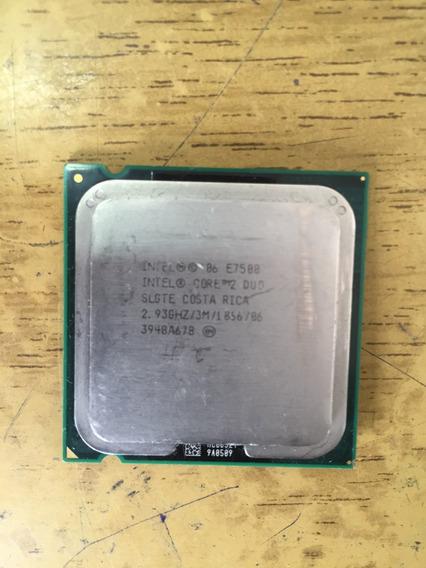 Core2 Duo E75002,93ghz/3m