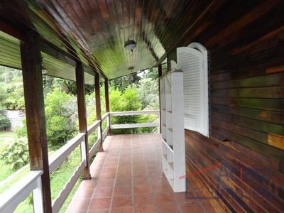 Granja Viana- Casa De Madeira Na Fazendinha Com Terreno Grande! - Ca0544