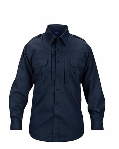 Camisa Camisola Propper Tatical Riptop Azul Media Noche