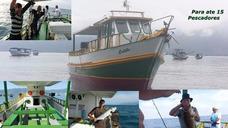 Barco Calebe. Pescarias Em Alto Mar, Ponta Do Boi