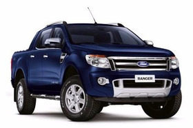 Estribo Plataforma Nova Ranger Dupla Azul  2012... Autoaba