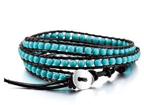 Pulseira Corda Azul- Glam0106