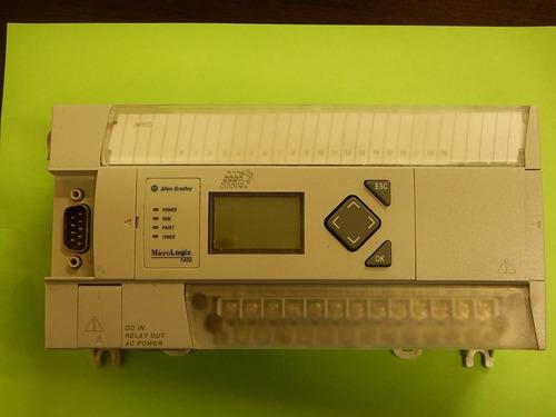Xa Micrologix 1400 120 Vca 12ent Allen Bradley 1766-l32bwa