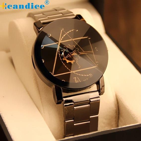 Relógio Masculino Aço Inox Qualidade , Importado