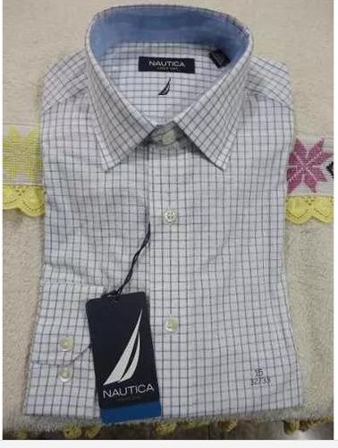 Camisa Para Hombre Marca Nauticaimportado De Usa