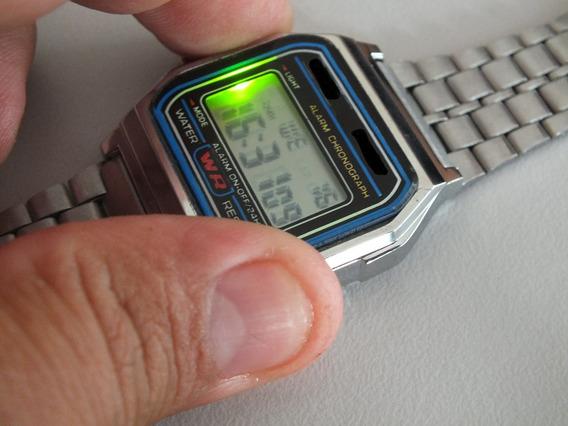 Relogio Digital Classico Retrô Com Alarme