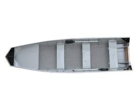 35% Entr+ 10x Casco Barco De Aluminio Way 500 Semi Chato