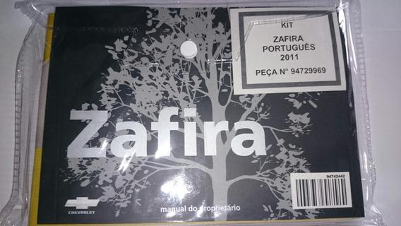 Manual Proprietário Chevrolet Zafira 06 07 08 09 10 11 2012